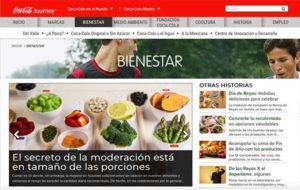 Ejemplos de blog corporativo: Blog corporativo de Coca-Cola